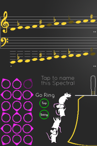 Note Selection Screen